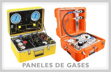 Paneles de gases