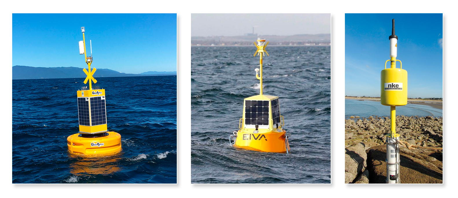 Boyas oceanográficas y sistemas de monitoreo ambiental